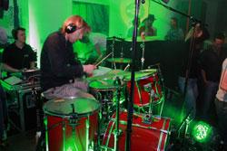 Band und DJ sorgten für die Beats