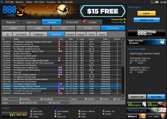 888poker $10k