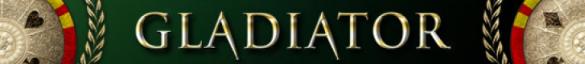 Gladiator banner