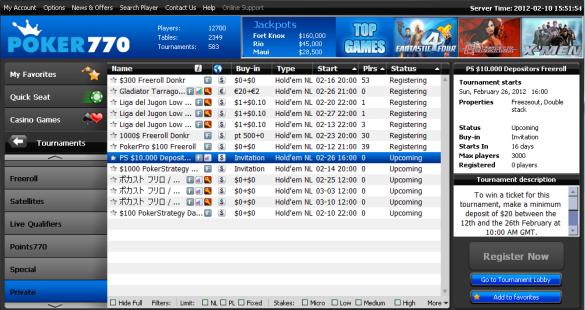 poker770 $10k