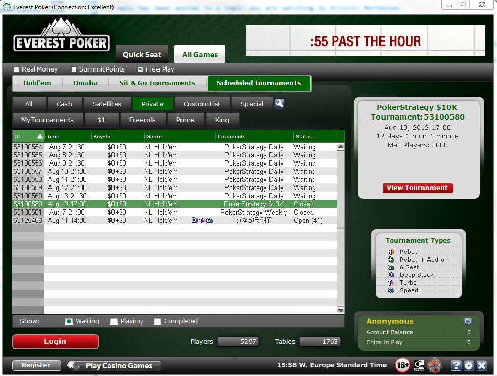 Online poker show freeroll password facebook cdma wifi dongle with sim slot