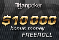 poker bonus freeroll