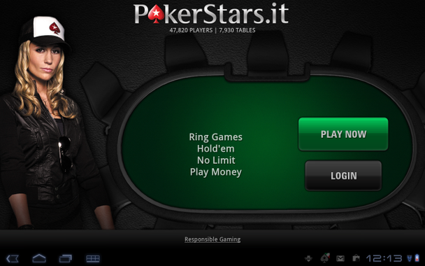 Pokerstars com android