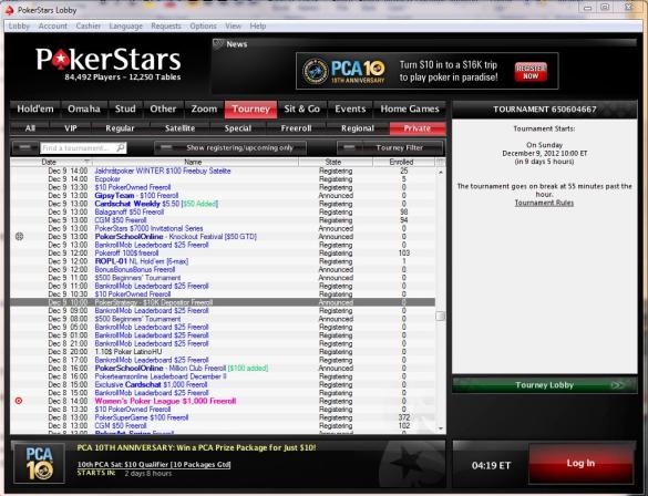 Poker freeroll strategy