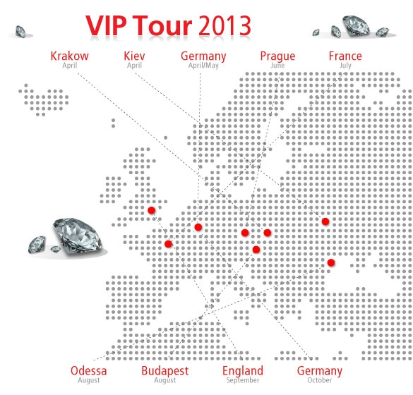 Die PokerStrategy.com VIP Tour 2013