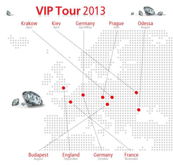 The 2013 VIP Tour