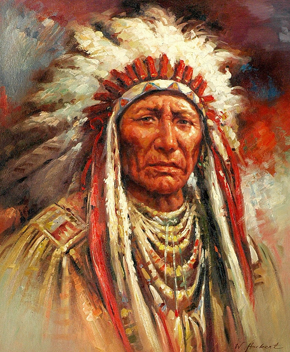 The gallery for --> Famous Native American Chief Paintings