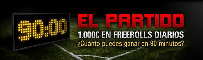 El partido - Pokerstars.es
