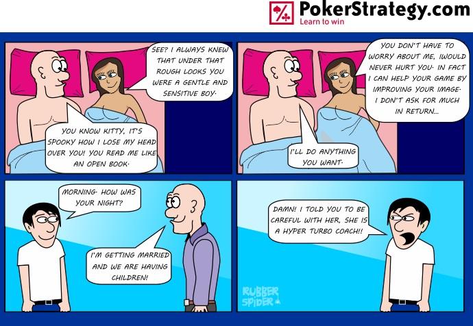 News: Poker Cartoon - Careful