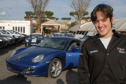 Porsche Дарио Миньери
