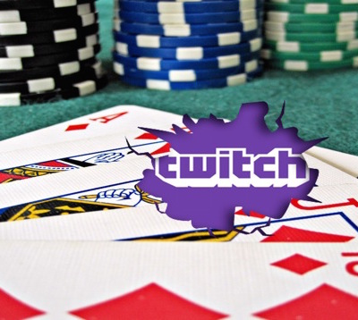 Poker players on twitch