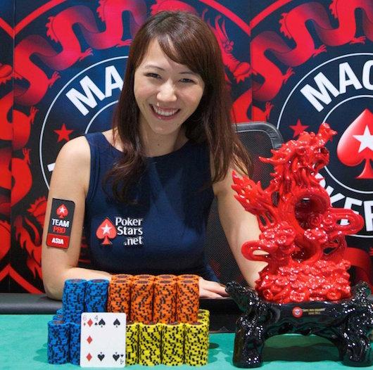 Poker player dragons den