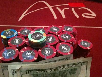 Poker room at aria las vegas