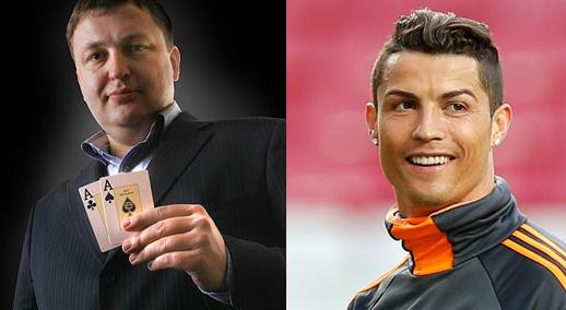 Tony G e Cristiano Ronaldo