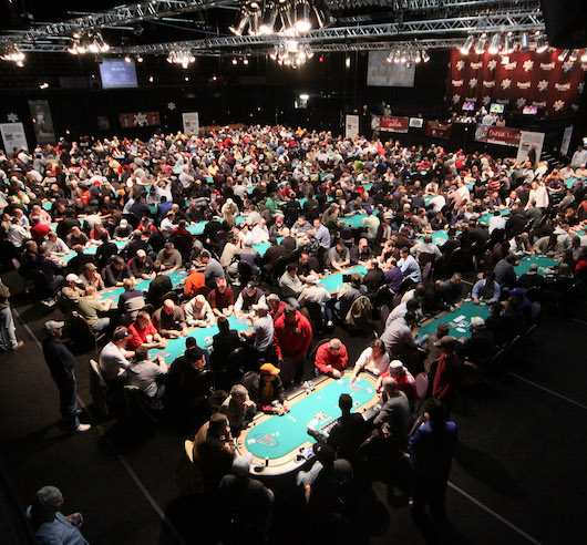 wsop tournament strategy