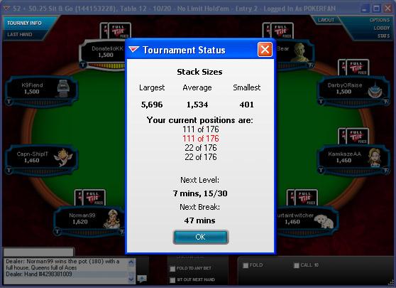 Full tilt poker tournament schedule