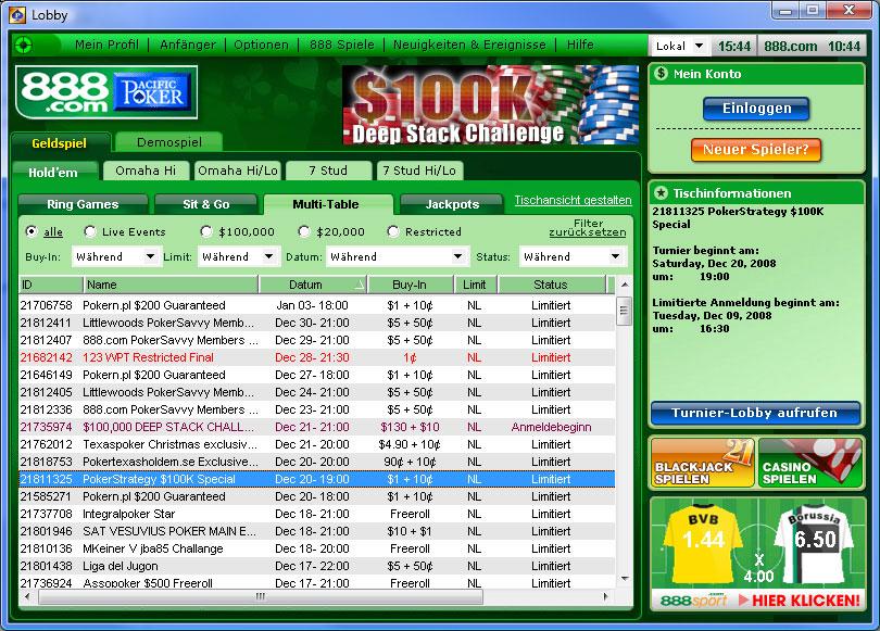 888 poker de