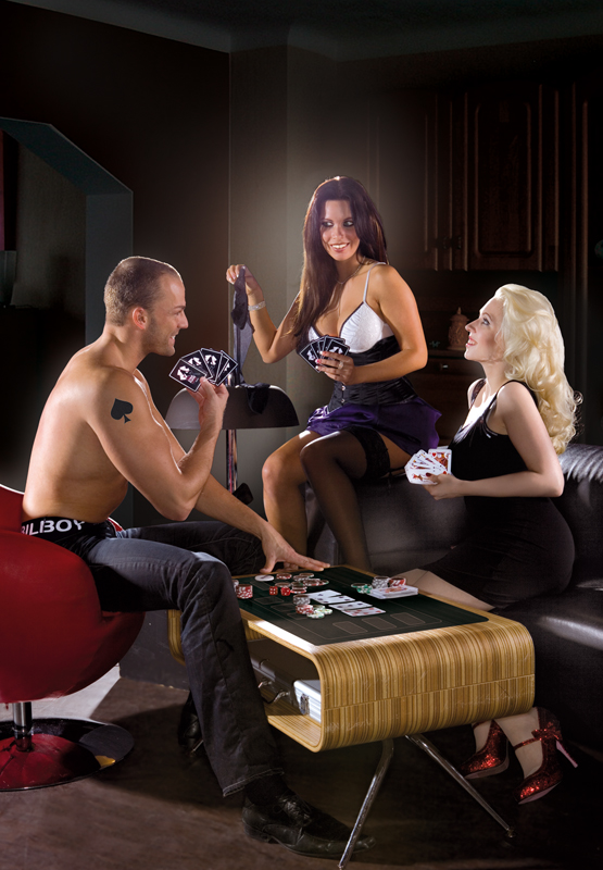 how to play strip poker without chips