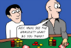 Poker Cartoon - The Bracelet