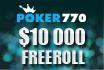 Doe op 26 januari mee aan onze $10.000 depositors freeroll bij Poker770