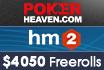Gewinnt in unseren exklusiven Freerolls bei Poker Heaven den Hold'em Manager 2