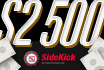 SideKick: ltima Chance para Ganhares $100 por Postares Mos para Avaliao!