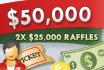 $50.000 Tell-a-Friend-Tombola: 140 Preisgelder für das Werben von Freunden