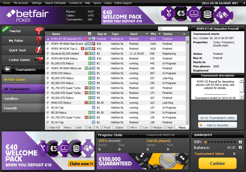 betfair exchange poker strategy